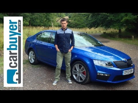 Skoda Octavia vRS hatchback 2013 review - CarBuyer