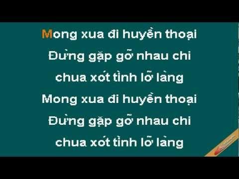 Xua Đi Huyền Thoại Karaoke - Trường Vũ - CaoCuongPro
