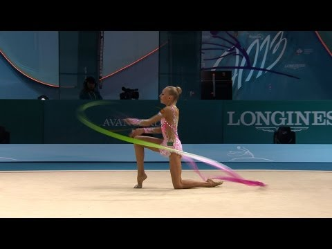 Yana kudryavtseva hoop final - world chionships kiev 2013