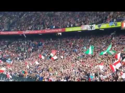 Afscheid Ronald Koeman bij Feyenoord - SC Cambuur