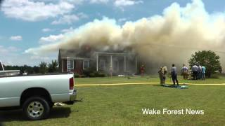 Youngsville House Fire July 18, 2014