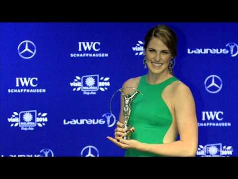 Missy Franklin Laureus World Sportswoman of the Year