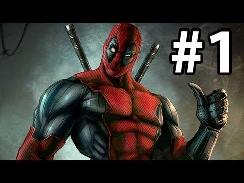 Deadpool Gameplay Walkthrough Part 1 ( Xbox 360 / PS3 / PC ),