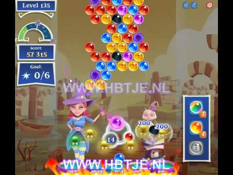 Bubble Witch Saga 2 level 135