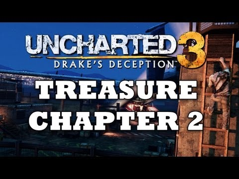 Uncharted 3 Treasure Locations: Chapter 2 [HD]