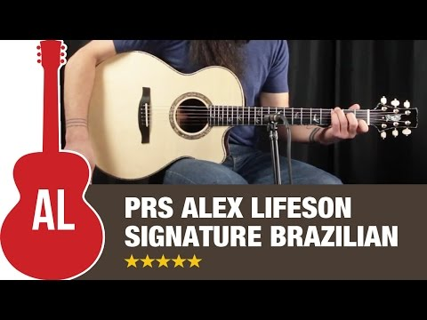 PRS Alex Lifeson Thinline Signature BRAZILIAN - How Does it Sound?