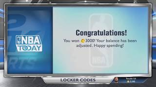 NBA 2K14 Locker Codes 3K VC Coins + MyPlayer Animation