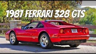 Ferrari 328 GTS--Video Test Drive with Chris Moran