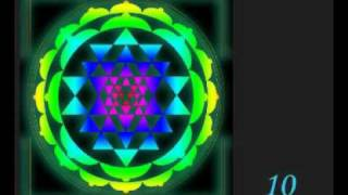 Create SriYantra In Mind's Eye
