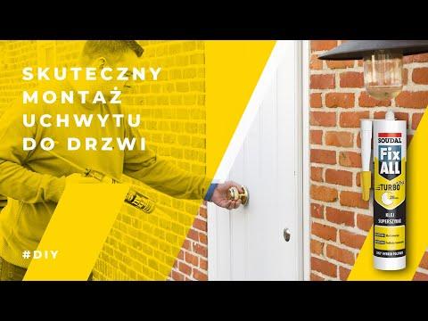 Soudal - czym najlepiej przymocować uchwyt do drzwi?
