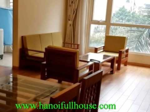 Apartment in Vimeco Hanoi rentals. Fully furnished 3 bedroom apartment