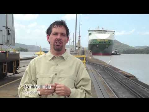 Sailing a Panamax Through the Panama Canal