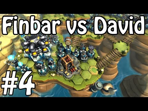 Tower Wars - Finbar vs David! #4