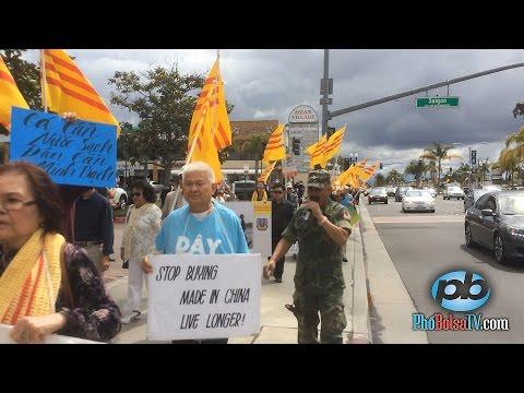 Biểu tình ở Bolsa vụ cá chết ở miền Trung Việt Nam