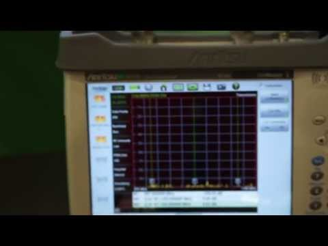 #NATEUnite2014: Anritsu demo of microwave Site Master