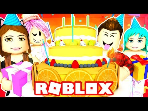 Roblox Family - FUNNEH'S HUGE BIRTHDAY SURPRISE PARTY!! (Roblox Roleplay)