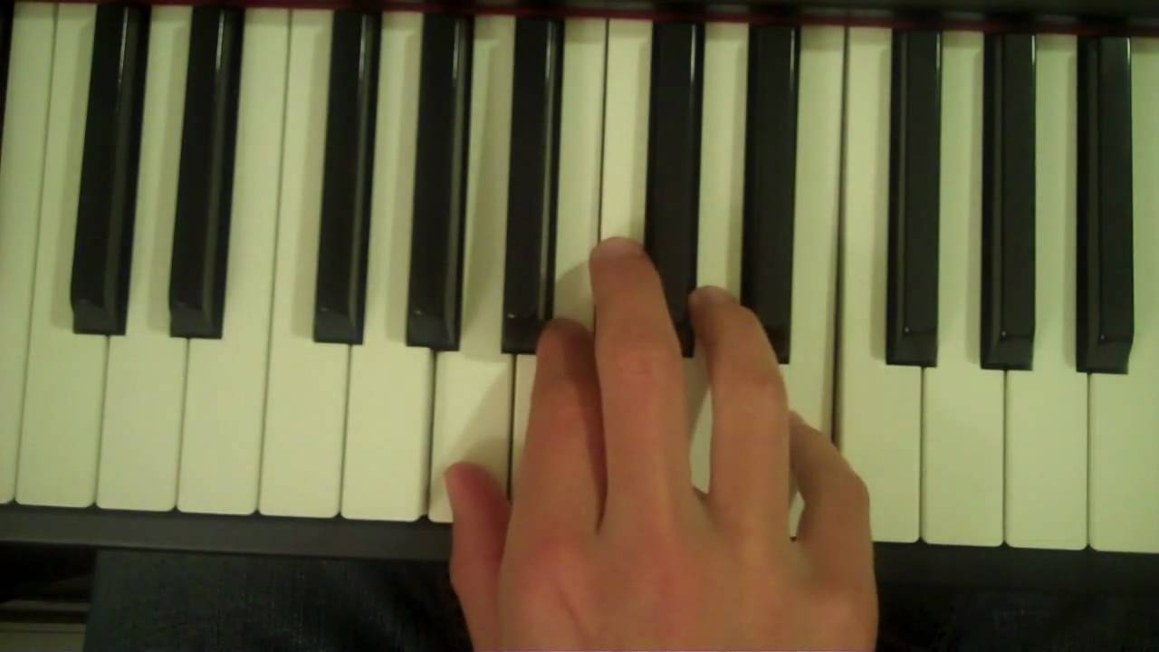 how to play asus2 on piano