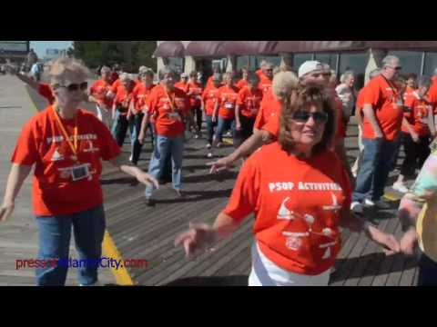 Senior Flash Mob in Atlantic City