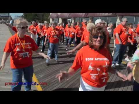 Senior Flash Mob in Atlantic City