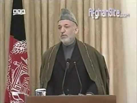 Karzai reviews Obama's new WAR strategy in Afghanistan part 3