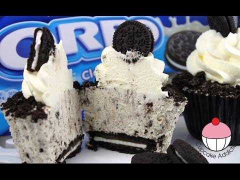 OREO Cheesecake Cupcakes!