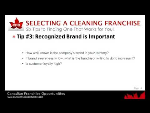 Cleaning Franchise | Six Steps to Finding the Right One