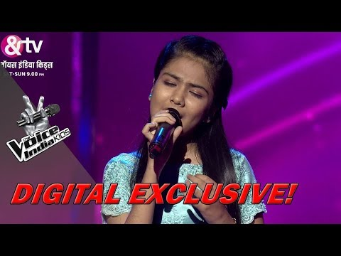 Shruti Goswami Performs On Naina | Sneak Peek | The Voice India Kids - Season 2