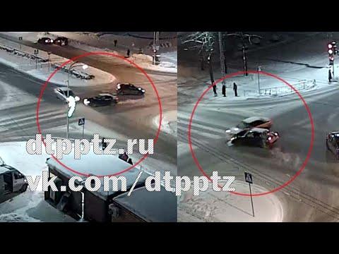 ДТП на Октябрьском проспекте: пешеходам пришлось убегать