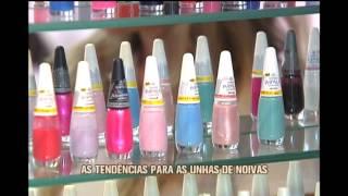 Jornal da Alterosa mostra os esmaltes que s�o tend�ncias para noivas