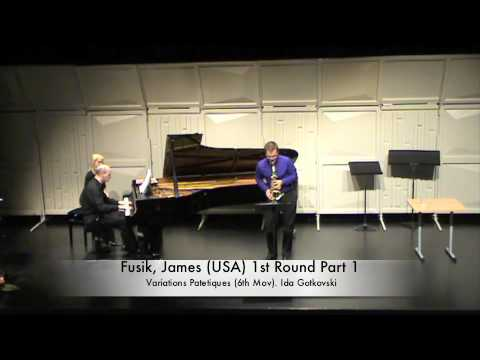 Fusik, James (USA) 1st Round Part 1