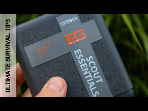 NEW - Gerber Bear Grylls Scout Essentials Survival Kit Review - Ultimate Survival Pack for Scouts?