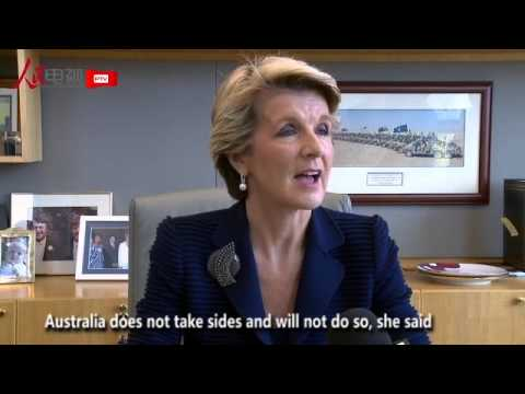 Australian Foreign Minister talks about China's announcement of Air Defense Identification Zone