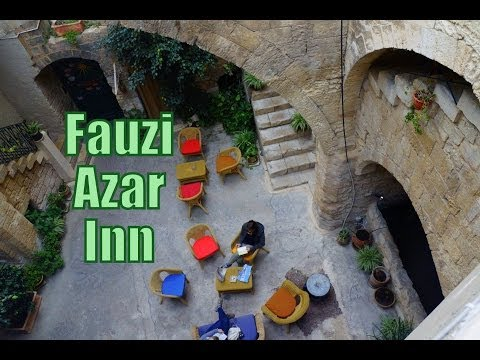 Fauzi Azar Inn located in Nazareth, Israel (200 year old Arab mansion turned guesthouse)