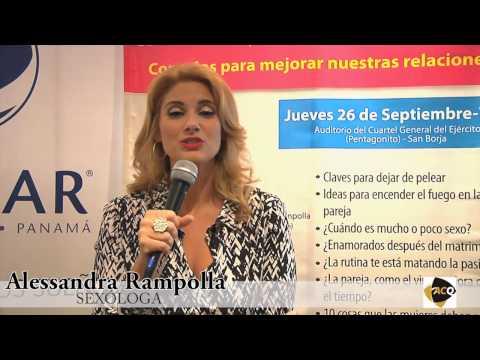 Conferencia de Prensa de Alessandra Rampolla