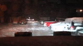 Snow Plowing Jan 2, 2014