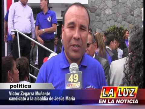 ENTREVISTA A CANDIDATO A LA ALCALDÍA DE JESÚS MARÍA, VÍCTOR ZEGARRA