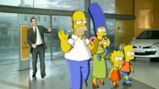 Renault Kangoo: Simpsonovi [reklama]