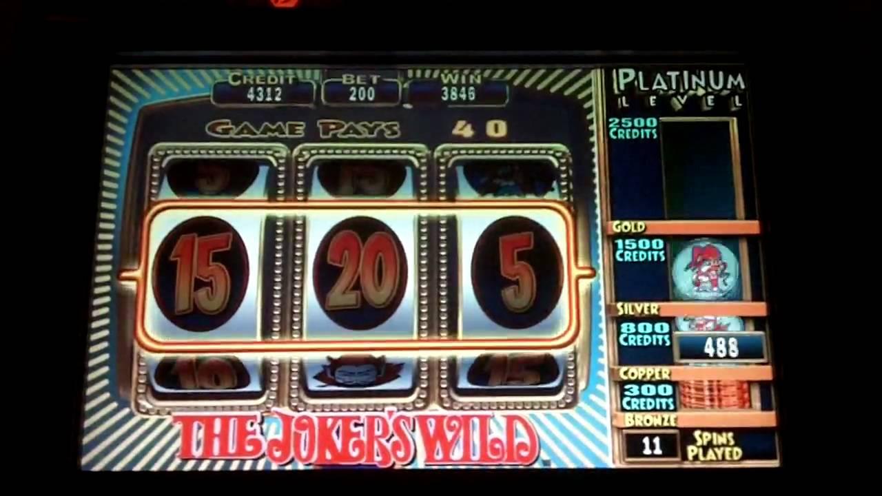 Jokers Wild Slot Bonus - IGT - YouTube