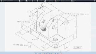 Dibujo En Autocad 2007 En 3D Part1