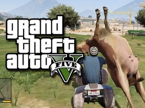 GTA 5 Funny and Random Gameplay Moments! - Jump Spots, Cheats, and Fails! (GTA V Gameplay),