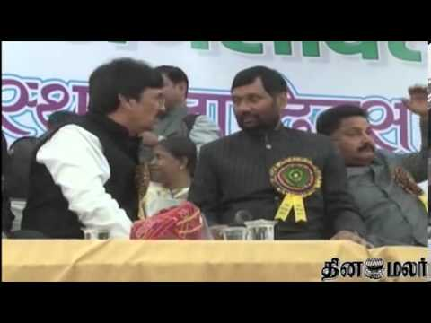Ram Vilas Paswan talks with BJP - Dinamalar Feb 26th 2014 Tamil Video News