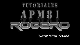 PS3 Rogero 4.46 V1 0 1 CEX Y Multiman 4.46 (Solo Consolas