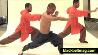 7-Minute Shaolin Workout With Shaolin Monk Wang Bo