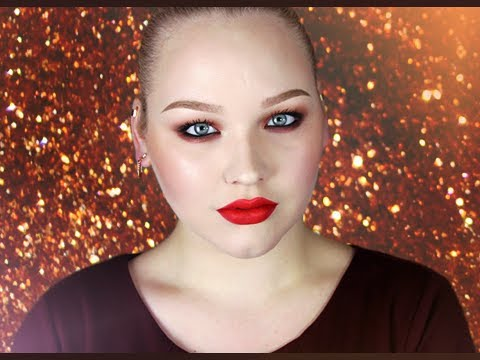 Glamorous Coppers & Reds for the Holidays - Makeup Tutorial