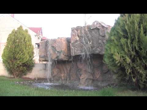 Artificial waterfall in Macedonia, Fontani, vodopadi Makedonija 09.11.2013
