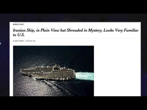 FAIR TV: Venezuela NY Times Correction, Rich Lowry, Iran's Suspicious Ship (3/28/14)