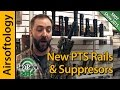 The Finishing Touch for Your AEG - New PTS Rails and Suppressors for 2015! | Airsoftology