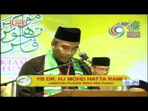 Ucapan Penggulungan Muktamar 59: Dr Mohd Hatta Ramli