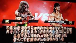 Unlock Everything In WWE 2K14