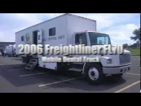 2006 Freightliner LLC FL70 Mobile Dental Unit Truck on GovLiquidation.com